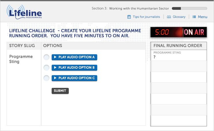 Lifeline Programming