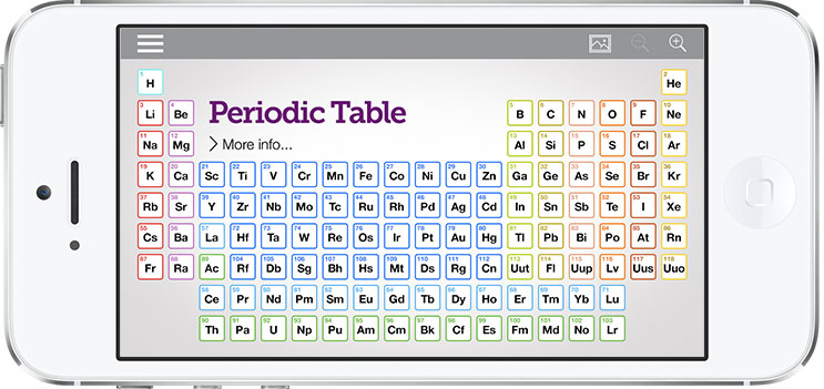 Periodic table app the portfolio of designer mark wu periodic table app urtaz Gallery