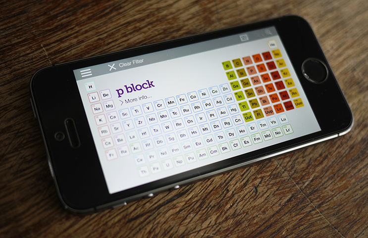 Periodic table app the portfolio of designer mark wu periodic table app urtaz Image collections
