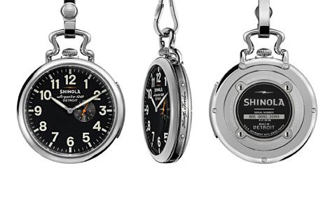 Shinola Pocket Watch