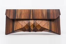 Wood Skin Clutch