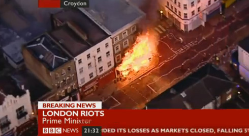 Croydon Riots 2011