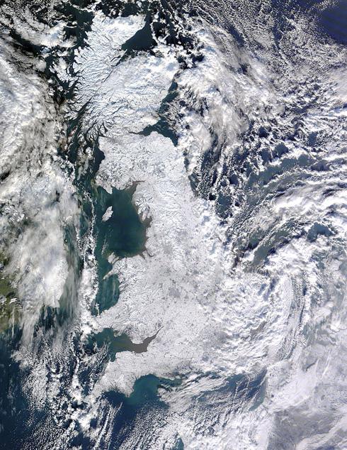 UK Snow Island