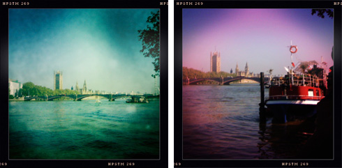 Hipstamatic Thames