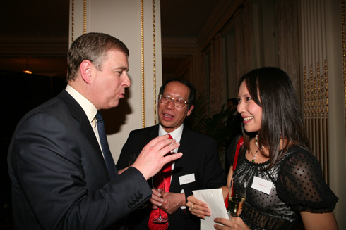 Prince Andrew and Ching