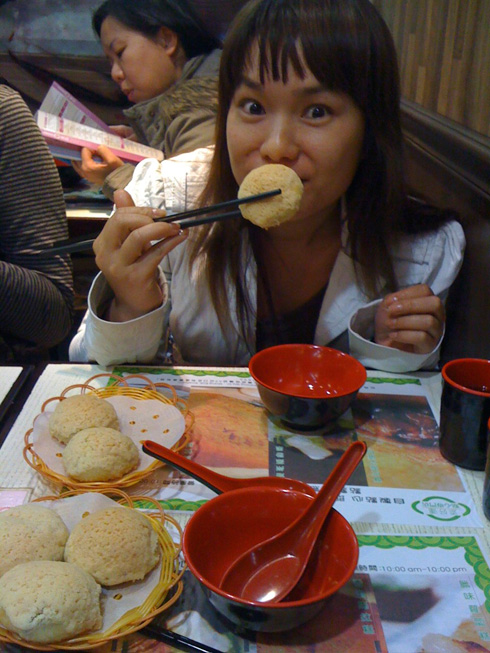 Linh at Tim Ho Wan