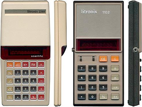 Pair of Vintage Calculators