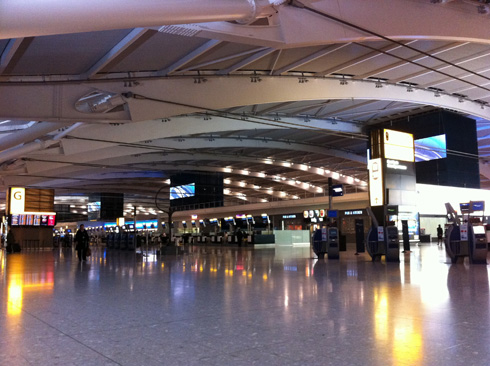 Heathrow T5 at 5AM