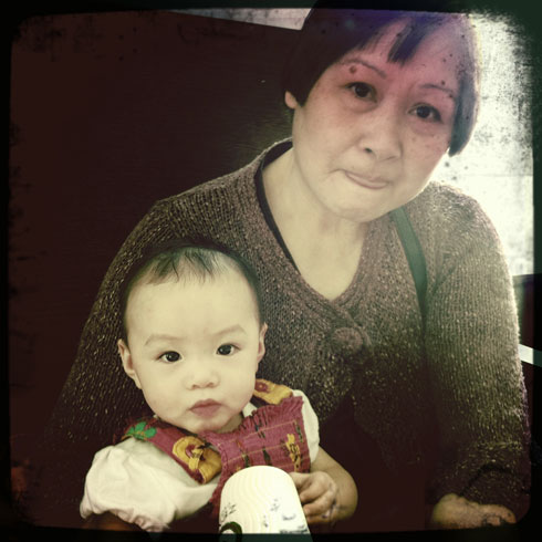 Grandmother Granddaughter