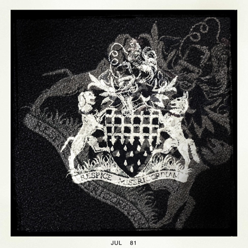 RSPCA Board Room Seat Motif
