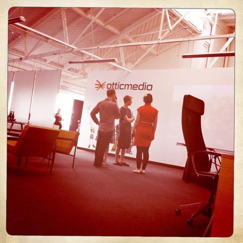 Atticmedia party prep