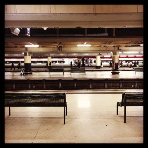 Euston Platform