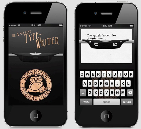 Amazing Type Writer app