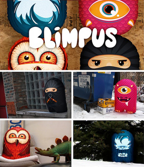 Blimpus, An Inflatable Character Canvas