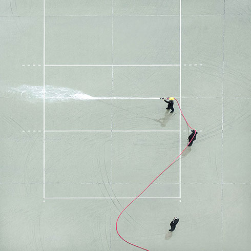 Aerial Photos of a Hong Kong Fire Station