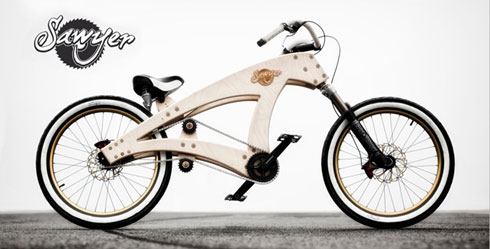 DIY Wood Lowrider Bike