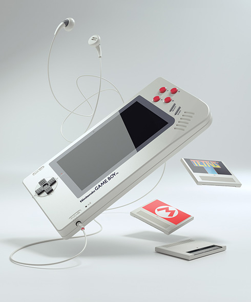 Game Boy 1 Up