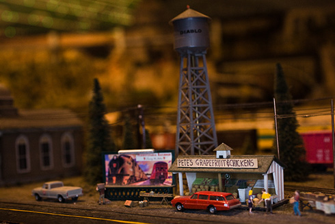 Giant Model Railroad