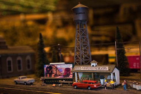 Giant Model Railroad