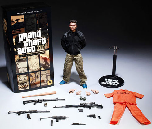 Grand Theft Auto III Claude Action Figure