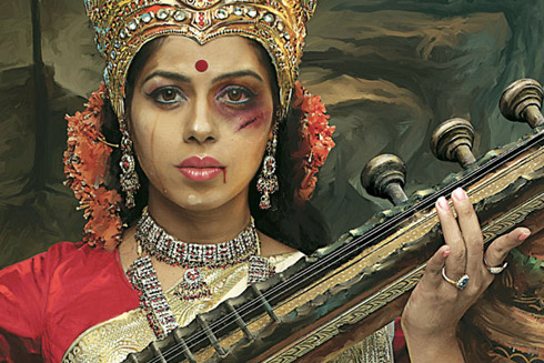 Indian Goddesses Domestic Violence Campaign