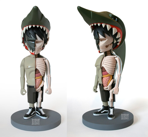 Jason Freeny x Coarse Jaws