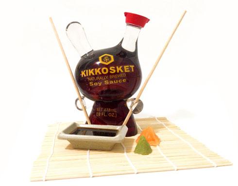 KikkoSket Soy Sauce Custom Dunny
