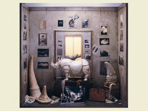 Famous Artists' Studios in Miniature