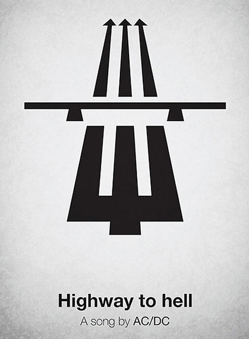 Pictogram Music Posters