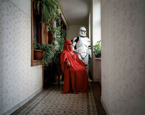 Portraits of Costume Owners at Home