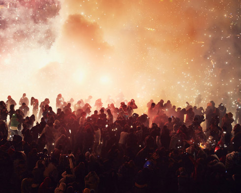Pyrotechnic Festival in Mexico