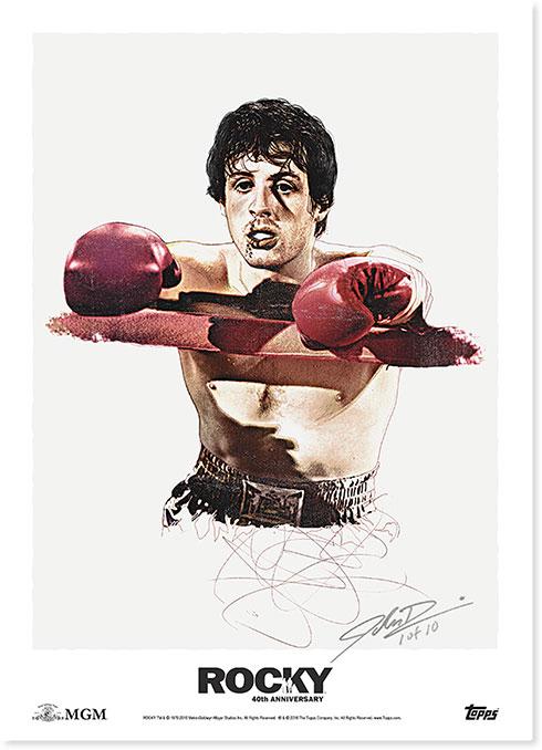 Rocky 40th Anniversary Fine Art Print