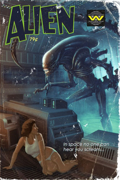 Sci-Fi Pulp