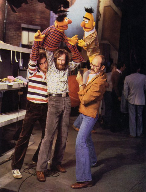 Behind (below) the Scenes on Sesame Street
