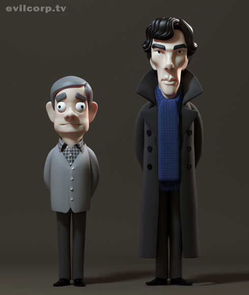 Sherlock Vinyls by A Large Evil Corporation