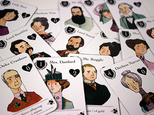 Lords and Ladies Card Game