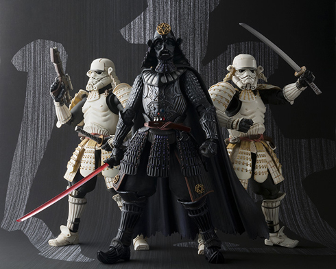 Star Wars Samurai Figures - Bandai