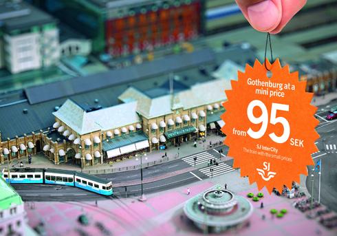 SJ Swedish Railways: Miniprice