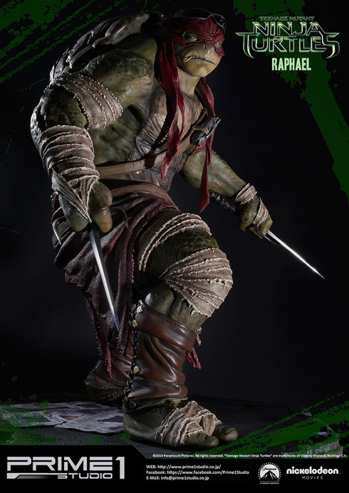 Teenage Mutant Ninja Turtles - Raphael Statue