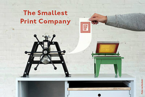 The Smallest Printing Company