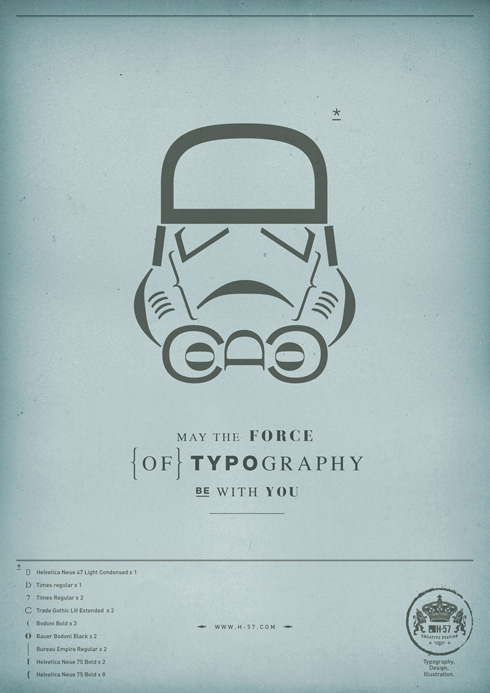 Force of Typography