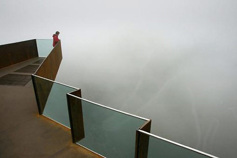 Trollstigen Lookout Point in Norway