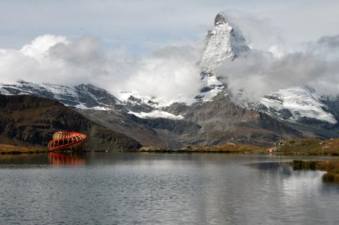Spiral Viewing Platform in Switzerland