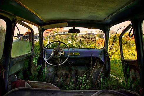 From the Back Seat of Abandoned Cars
