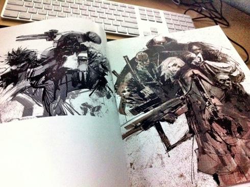 Ashley Wood & Metal Gear Solid