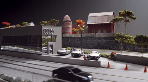 Audi Slot Cars Track
