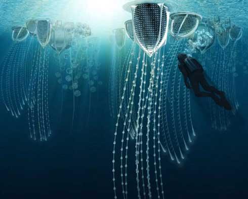 Underwater Ocean City