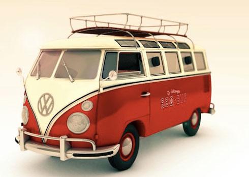 Volkswagen BBQ Van