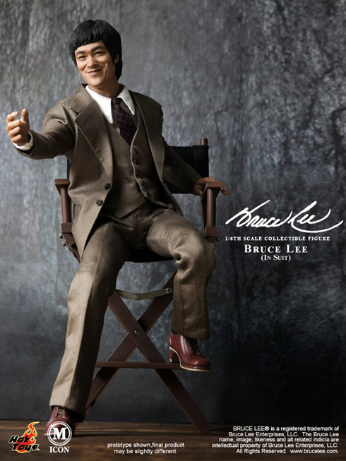 New Smiling Bruce Lee Figure from Hot Toys