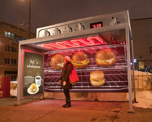 Bus Shelter Ovens